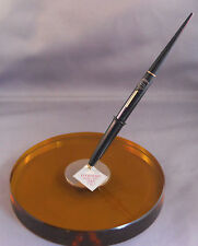 Eversharp Round Desk Base with black pen--NEW OLD STOCK