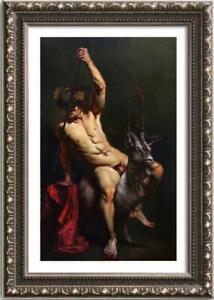 "Hand-painted Original Oil painting Portrait art boy male nude on Canvas 24""X36"""