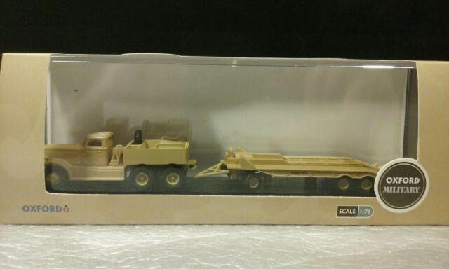 76dt001 1//76 military oxford diamond t980 tank transporter trc westerndesert