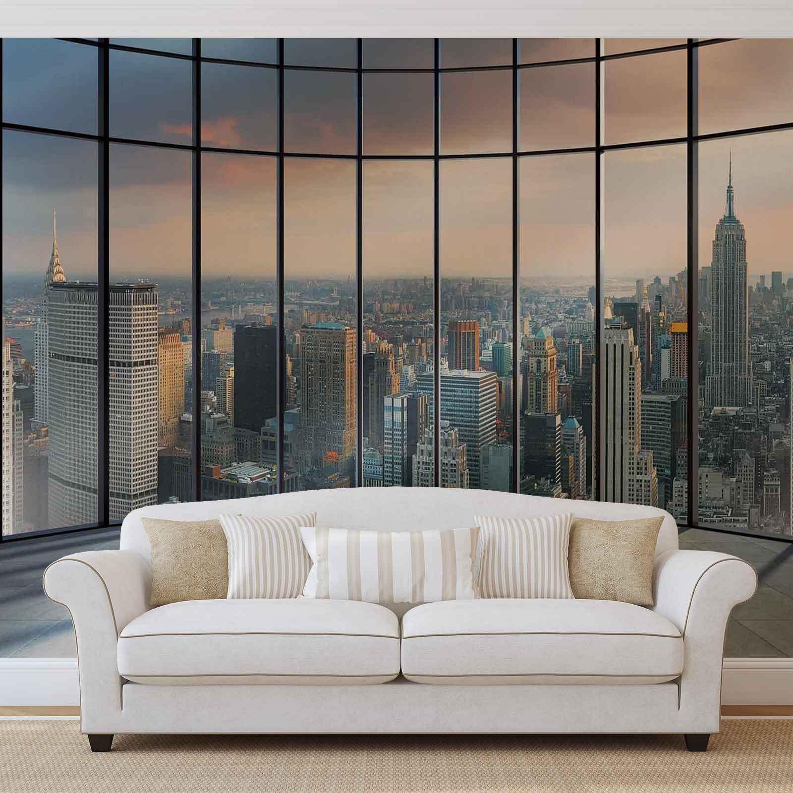 WALL MURAL PHOTO WALLPAPER XXL View New York City (1510WS)