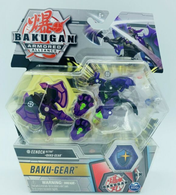 Bakugan Armored Alliance Dragonoid Ultra Baku Gear 4 Pack Howlkor Ultra
