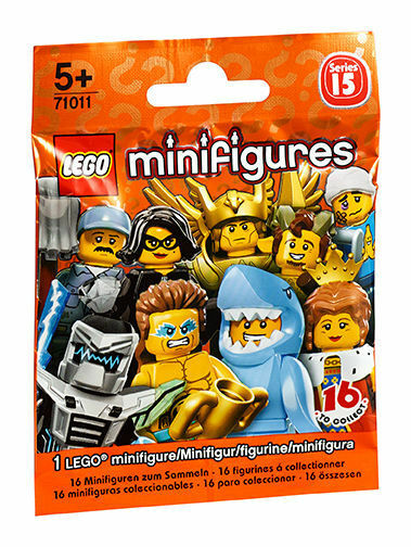 Lego® 105 Tüten 71011 Minifiguren Collector Serie 15 Display
