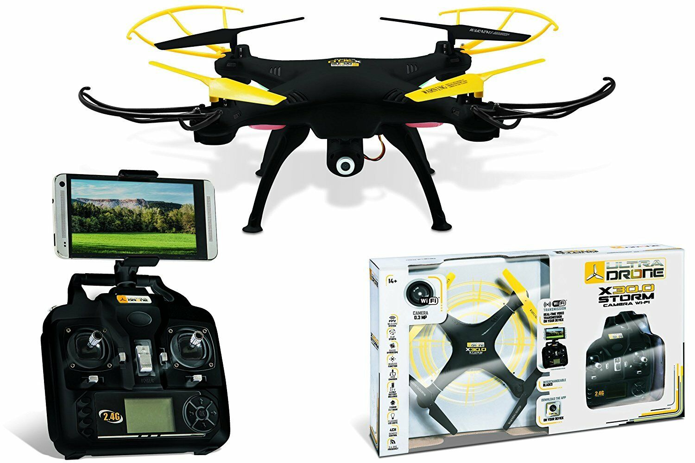 Mondo – 1 – Ultradrone x30.0 Storm R C + Cam. Wi-Fi