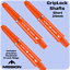 34mm//48mm,2ba Mission Griplock Dart Stems//Shafts 10 Colour Choices.