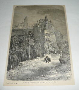 1879-magazine-engraving-THE-ACAZAR-AND-CATHEDRAL-OF-SEGOVIA-Spain