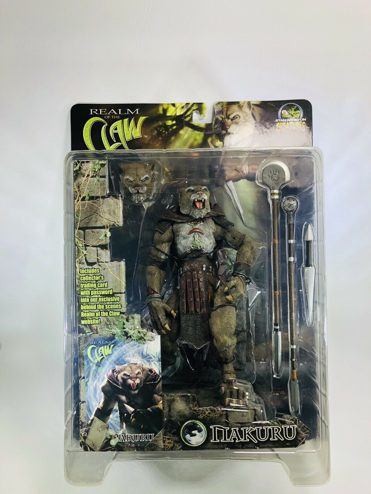 Stan Winston Creatures Nakuru Realm Of The Claw Action Figure