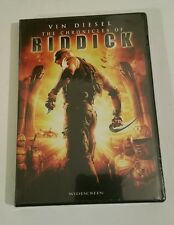 THE CHRONICLES OF RIDDICK NEW DVD WIDESCREEN EDITION SEALED