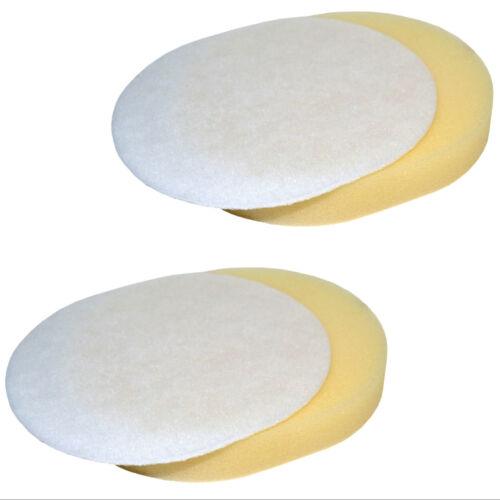 2-Pack HQRP Foam /& Felt Filter Kit for Shark Navigator NV UV Series Vacuum XFF80