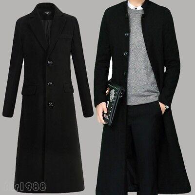 Mens Full Winter Single Ted Knee, Knee Length Mens Trench Coat