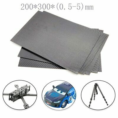 TCMMRC 3K Matte Surface Twill Carbon Plate Panel Sheets ...