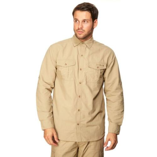 New Peter Storm Men's Long Sleeve Travel Shirt