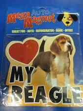 Beagle Hound Brown Puppy Dog Breed Pet Decal Auto Car Truck Magnet Decoration