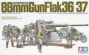 Tamiya 1/35 German 88mm Gun Flak 36/37 35017