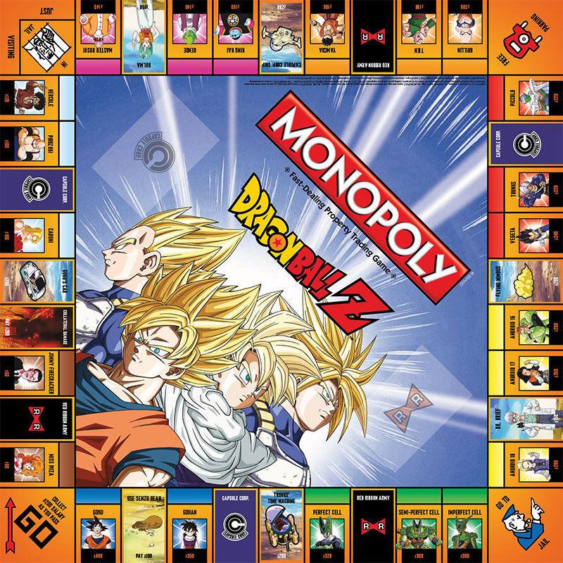 Dragonball Z Collector Edition Edition Edition Monopoly NEU 6 x Metall Marken Hasbro 87fce5