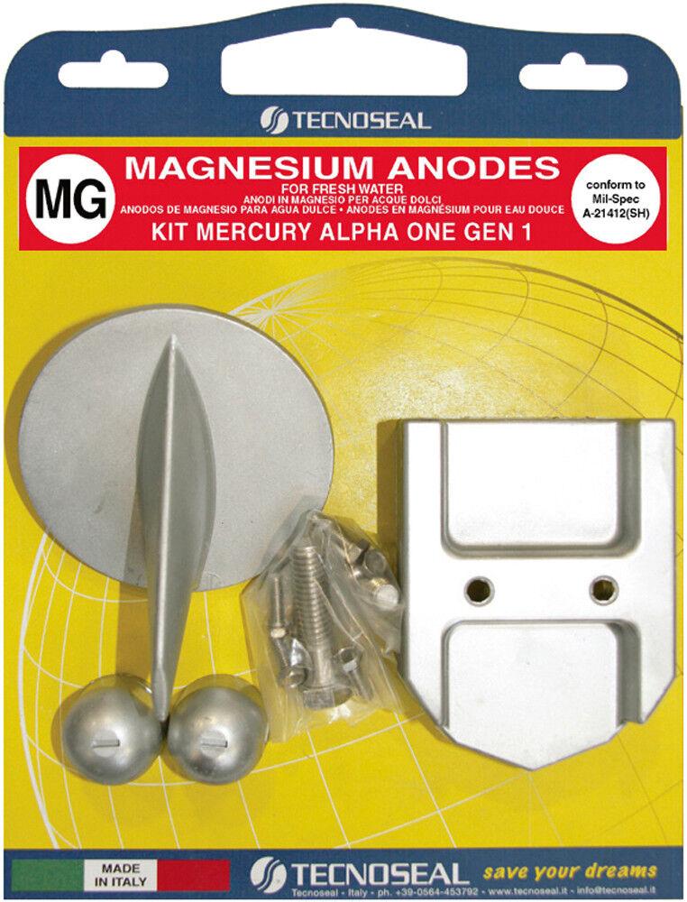 Anodensatz Anode Magnesium für MerCruiser Alpha One 1. Generation