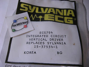 Sylvania-ECG794-Vertical-Driver-IC-16-Pin-DIP-Philips-ECG-15-37534-1-NOS-Qty-1