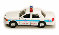 Police Cruiser 1:43 Scale Ford Crown Victoria Diecast Chicago Police Department