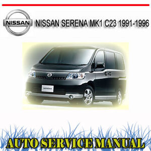 nissan serena repair manual