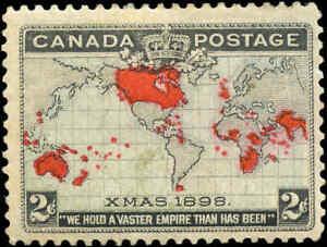 1898-Mint-H-Canada-F-Scott-85-2c-Imperial-Penny-Stamp