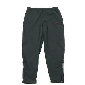 Reebok Corredores Correr Pantalones Para Mujer Talla Extra Grande Negro Conico Pierna 32 Desde Entrepierna Ebay
