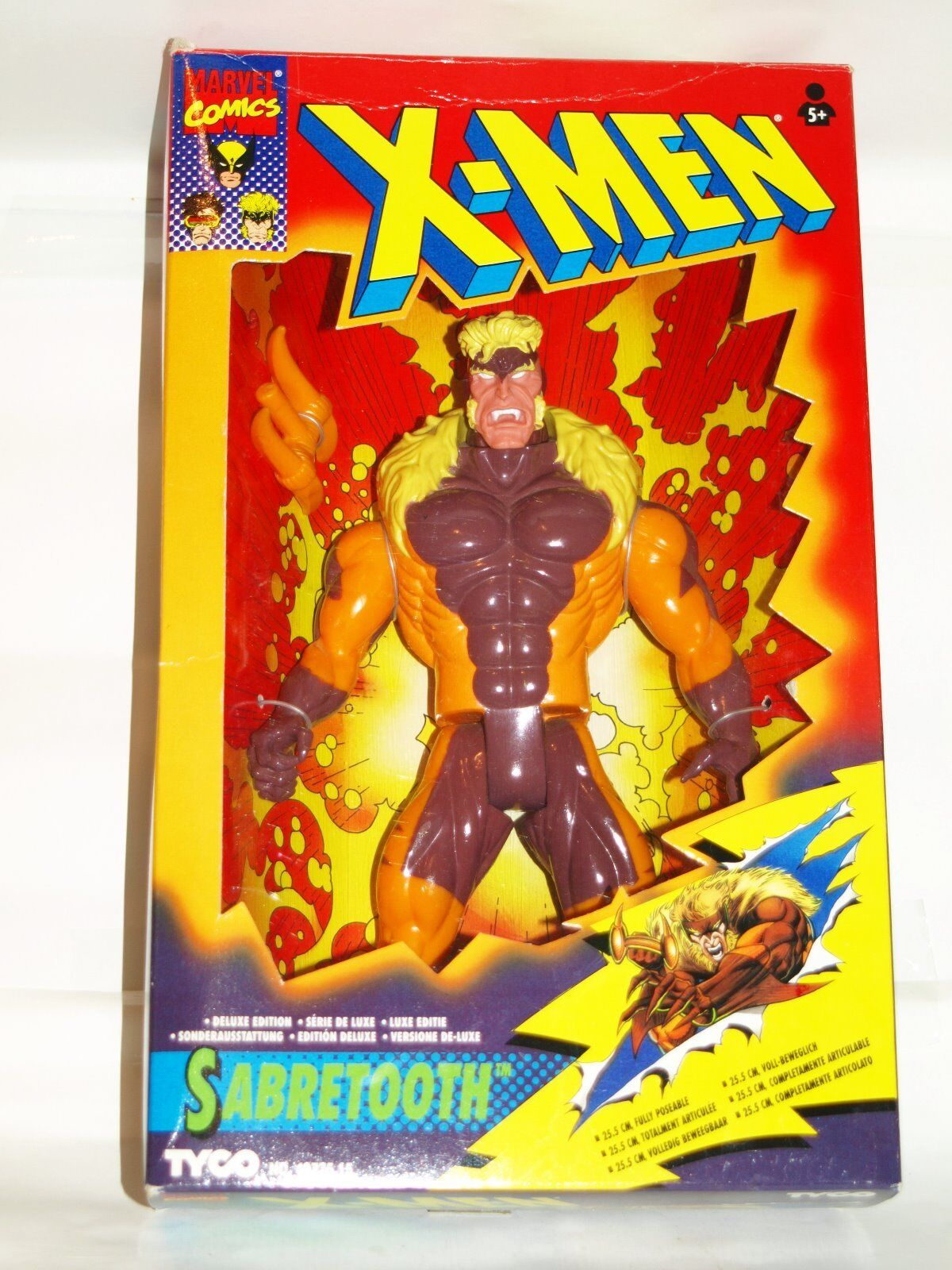 10  tall marvel figure sabretooth x men