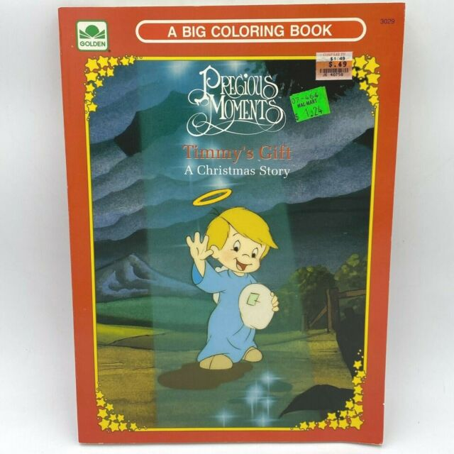 Vintage 1992 Precious Moments Coloring Book For Sale Online EBay