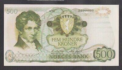 Faroe Islands 500 Kroner banknote 1978 UNC Reproductions