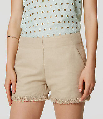 Loft Fringe Womens Shorts