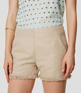 Loft Fringe Womens Shorts