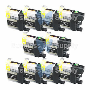 10-BLACK-LC103XL-HIGH-YIELD-LC103-Ink-Cartridge-VERSION-3-Chip-for-BROTHER
