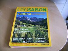 Geo Saison 9/2005 Südtirol u. a. Themen s. Bild