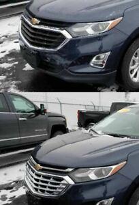 Black Horse 2016-2018 Chevrolet Silverado Overlay Grille Trims Chrome