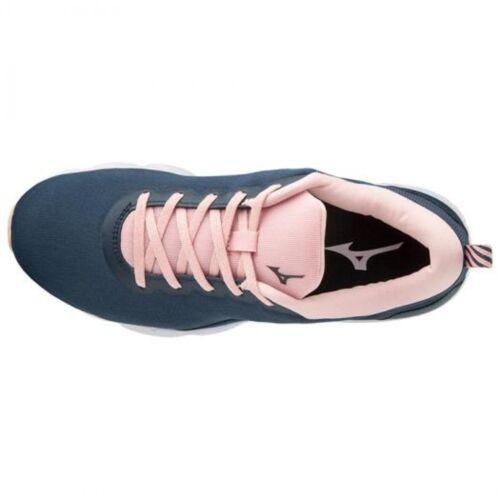 Pour Gris De J1gf1938 2 Femme Course Rose Chaussures Noir Ezrun Mizuno × CqntA5