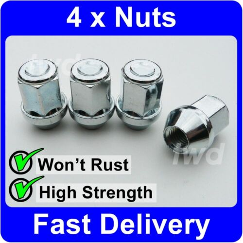 V10 4 x COMPATIBLE ALLOY WHEEL NUTS FOR TRANSIT-CONNECT//TOURNEO-CONNECT BOLTS