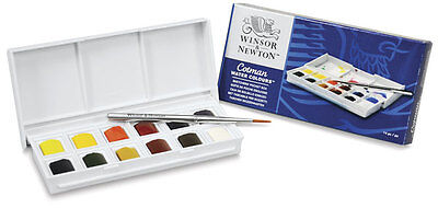 Winsor & Newton Cotman Watercolour Paint Sketchers Pocket Box Set