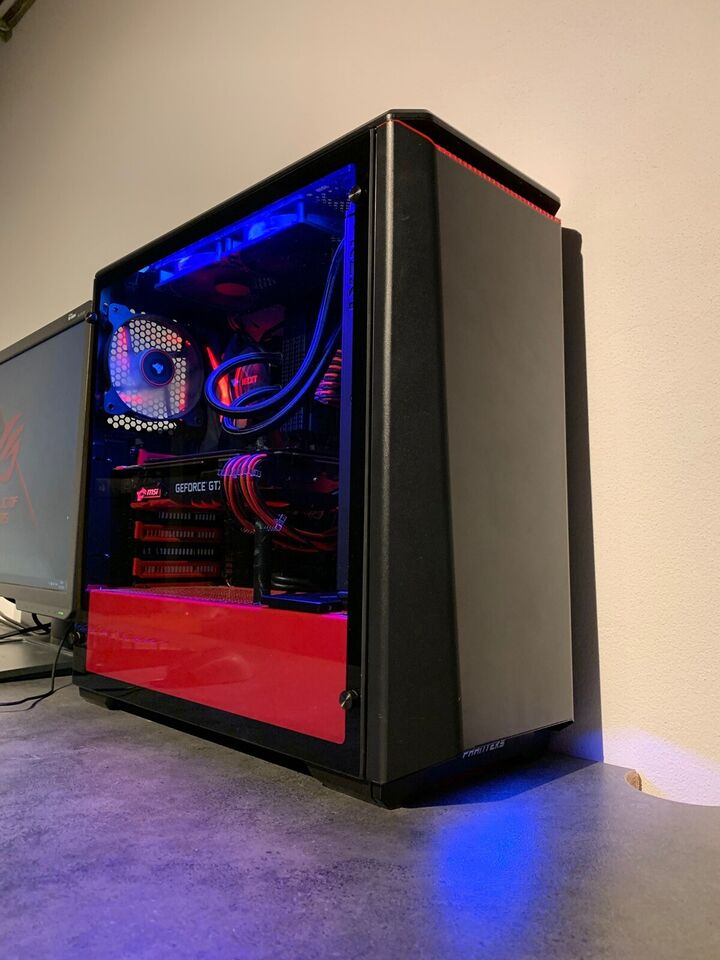 Selvbyg, i7 High end Gaming setup, i7 4,9 Ghz