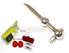 MEGAN RACING SHORT THROW SHIFTER FOR 93-97 FORD ESCORT POLISHED MANUAL ONLY