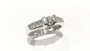 bague diamant 750