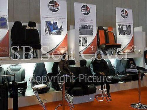 Vorne Sitzbezüge Passend für Skoda Fabia Auto I Schneeleopard Kunst