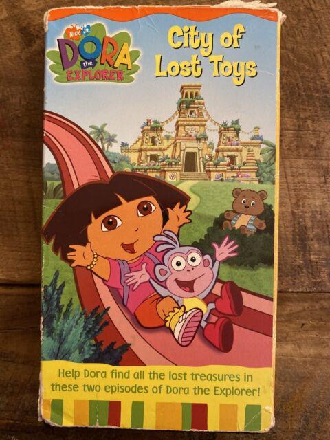Dora the Explorer - City of Lost Toys (VHS, 2003) - Kids Movie