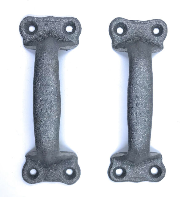 Cast Iron Antique Style Rustic Barn Gate Pull Shed Door Handles Set ...