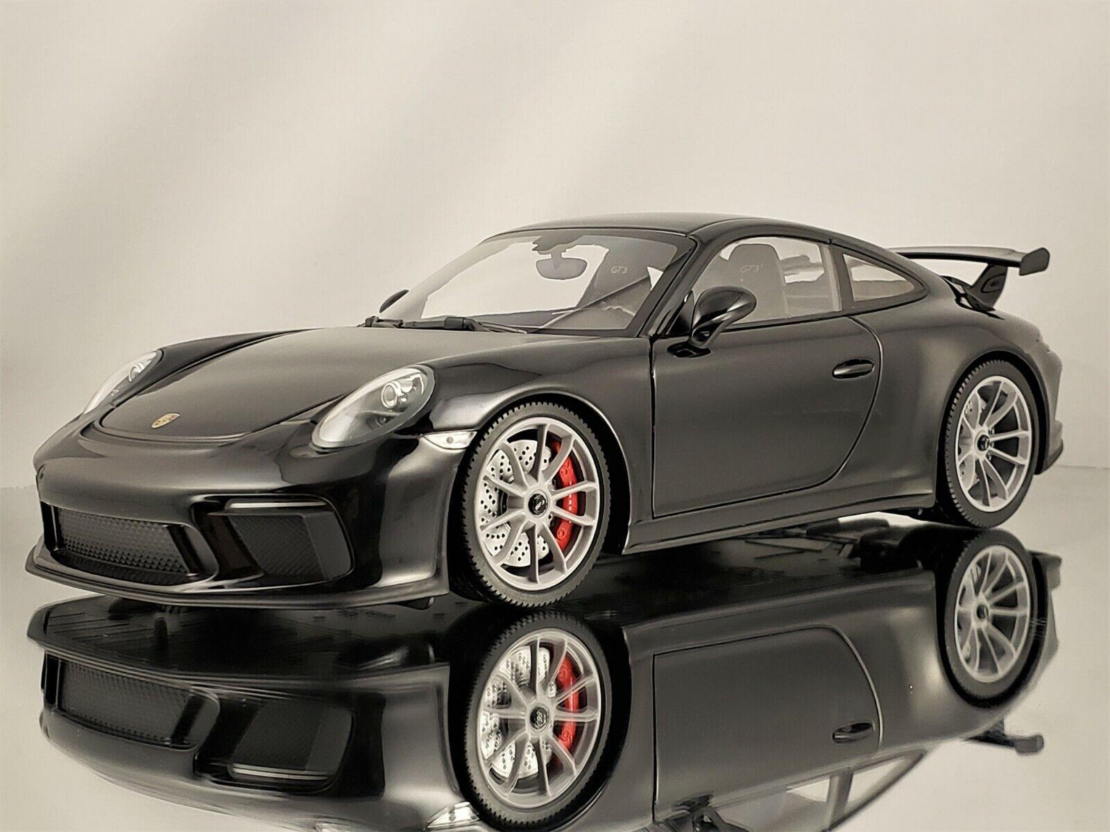punto de venta en línea Minichamps Porsche 911 (991.2) (991.2) (991.2) GT3 991 II MK2 Lifting 2017 Negro gris Llantas De 1 18  marca