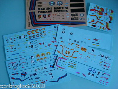 DECALS KIT 1 43 10 decals PORSCHE 935 TURBO 24H DU MANS  CAMION PORSCHE