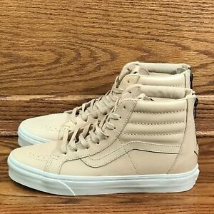 f4b397e32a Image is loading Vans-Sk8-Hi-Reissue-Zip-Veggie-Tan-Leather-