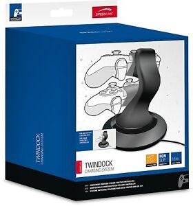 Speedlink-Ladestation-fur-PS4-Ladegerat-Controller-Ladekabel-Gamepad-Netzteil