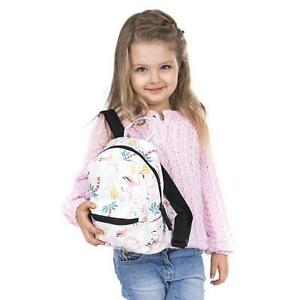 Backpack For Girls Kids School Bag Baby Pineapple Flamingo Print