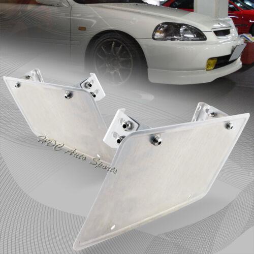 For Scion Subaru Adjustable Bumper License Plate Mounting Relocation Bracket Kit
