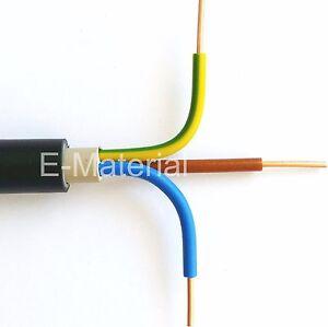 Erdkabel 3x1 5 100m : erdkabel nyy j 3x1 5 mm 100m ring stromkabel ~ Watch28wear.com Haus und Dekorationen