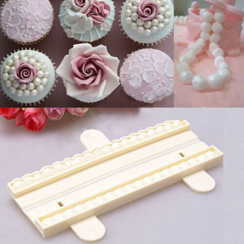 New Bead Cutter Pearl Sugarcraft Fondant Cake Gum Paste Decorating Mold Tool #T