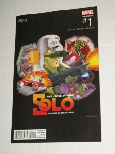 Marvel Now SOLO #1 Hip Hop Variant  NM